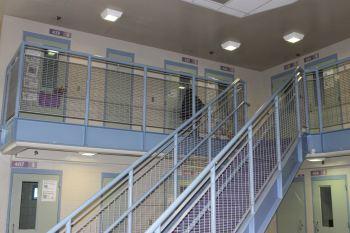 Detention housing.