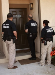 Deputy Probation Officers in the community are responsible for monitoring compliance with Court orders.